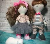Куклы Тильды - Влюблённая парочка