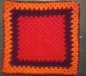 Шитье, вязание - Вязанные коврики на табурет (стал)