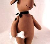 Зверята - Пёсик с косточкой