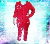 Костюмы - Теплая домашная пижама