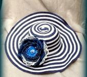 Броши - Брошь, украшение для шляпы, сумки из фоамирана СИРЕНА