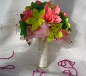 """Оригинальные подарки - Букет из бумажных цветов """"Летнее настроение"""""""