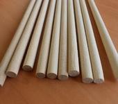 Мебель - Деревянные стержни для ремесел,  круглые гладкие палочки диаметр 8мм