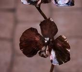 Оригинальные подарки - Кованая орхидея