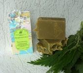 Мыло ручной работы - Крапивушка