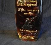 Декоративные бутылки - Бутылка с росписью